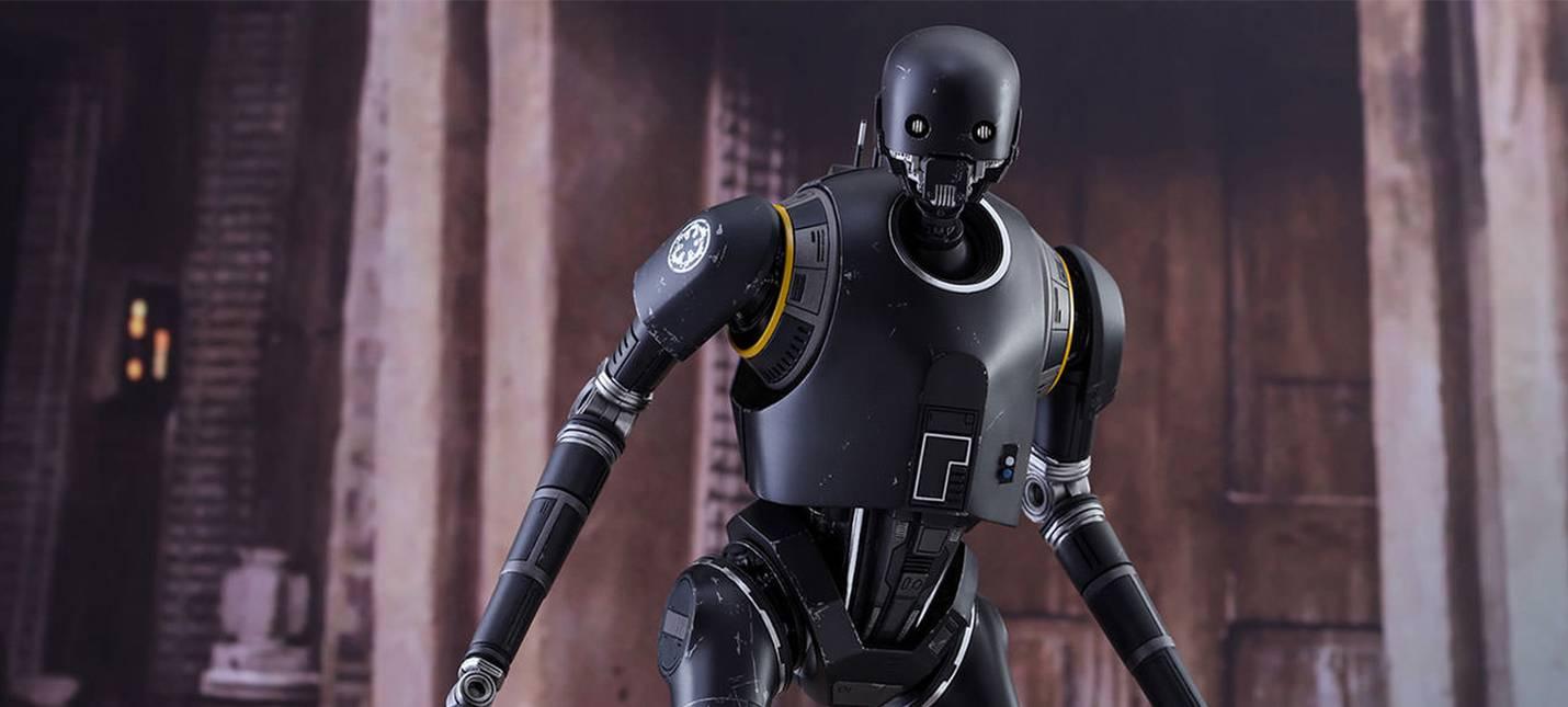 Чудесная фигурка милого K-2SO из Rogue One