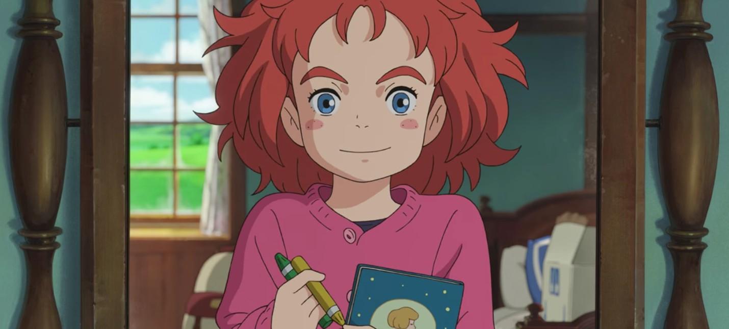 Ветераны студии Ghibli рисуют новый мультфильм о ведьмочке