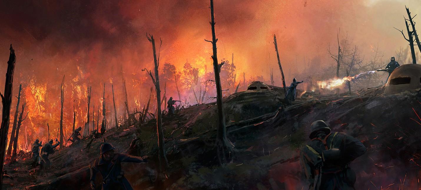 Концепты дополнения Battlefield 1 — Они Не Пройдут