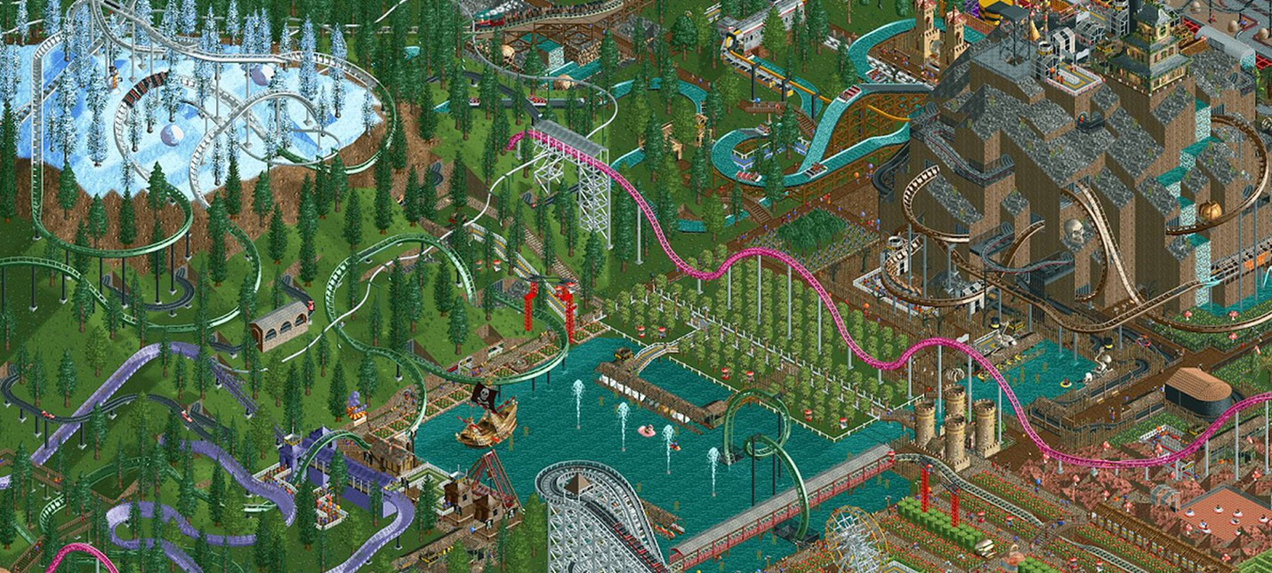 RollerCoaster Tycoon вышел на Android и iOS