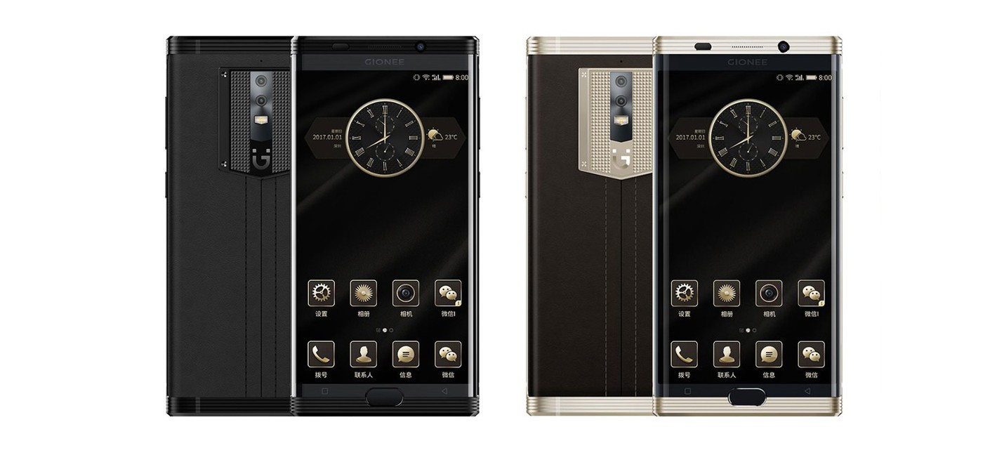 Роскошный китайский Android-телефон оснащен батареей на 7,000mAh