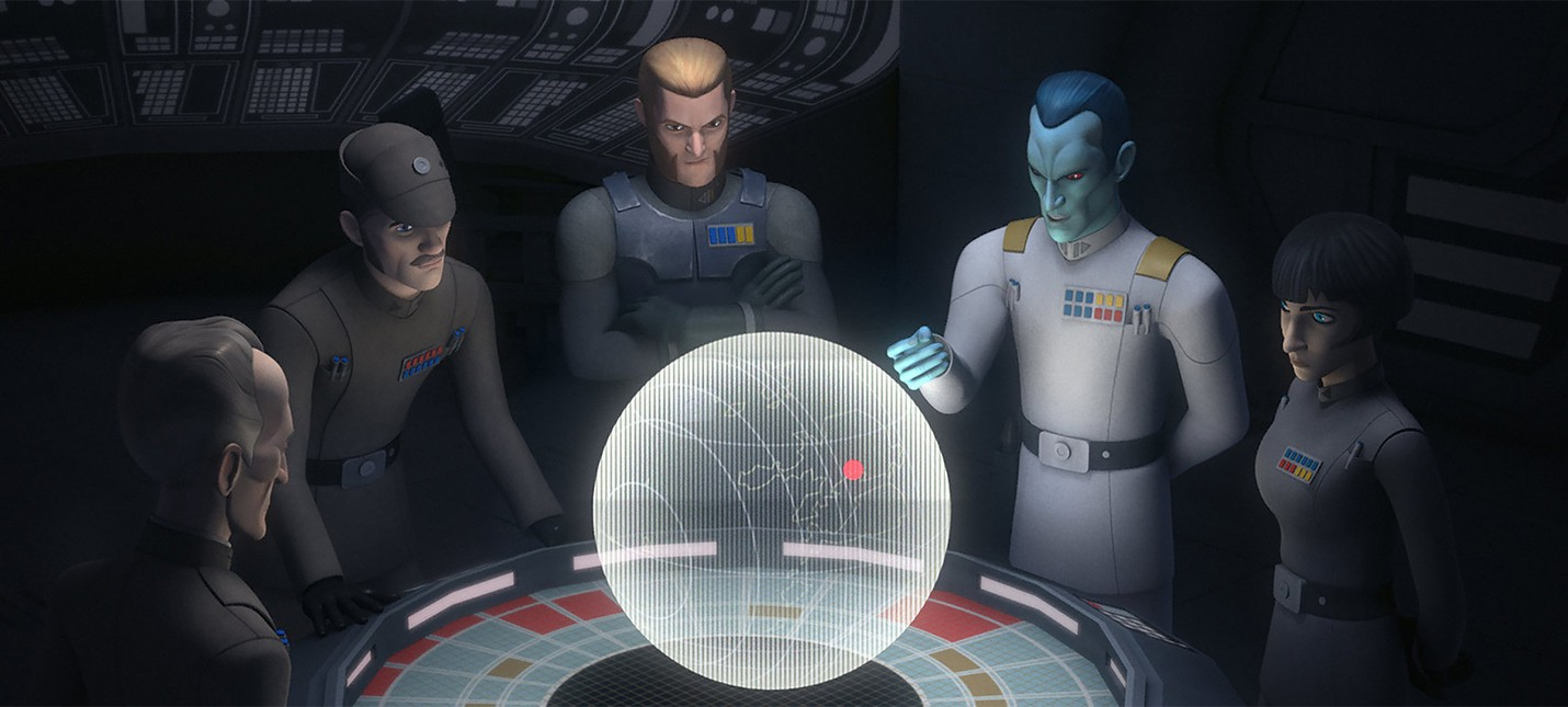Новый трейлер 3 сезона Star Wars: Rebels
