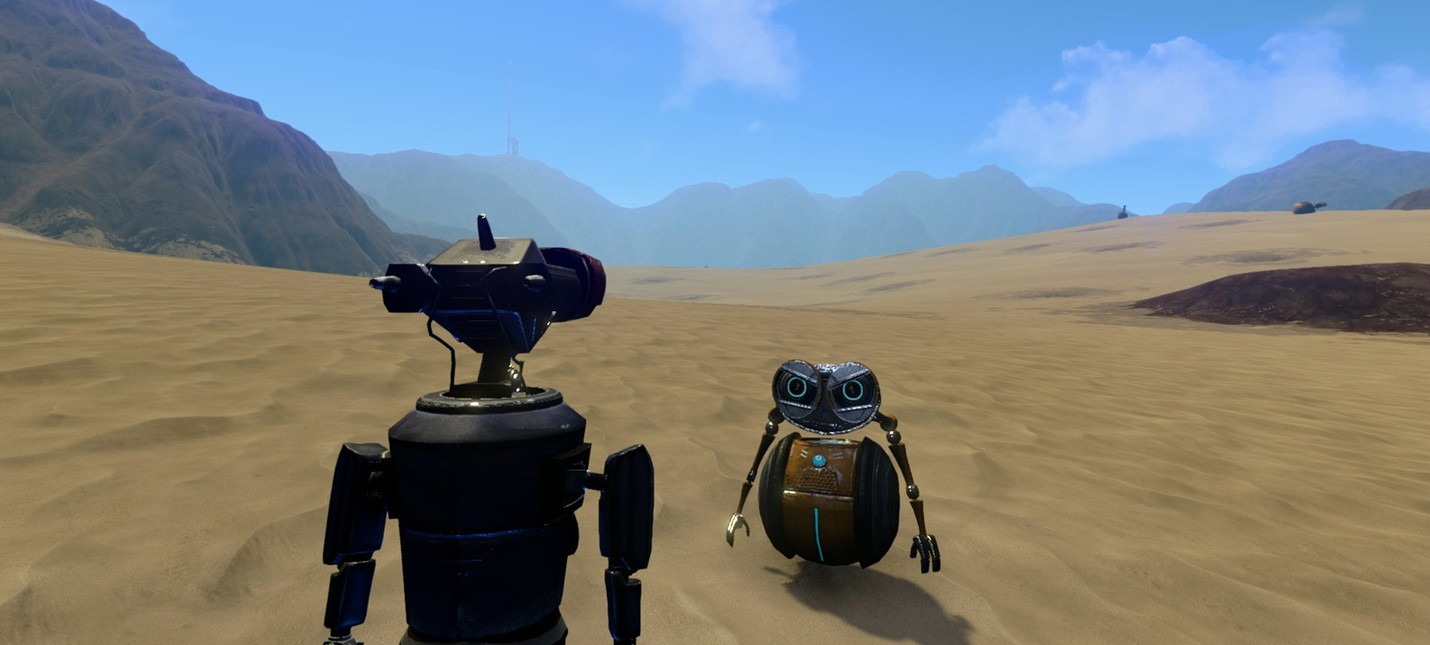 Игра про очаровательных роботов Phoning Home  выйдет в феврале