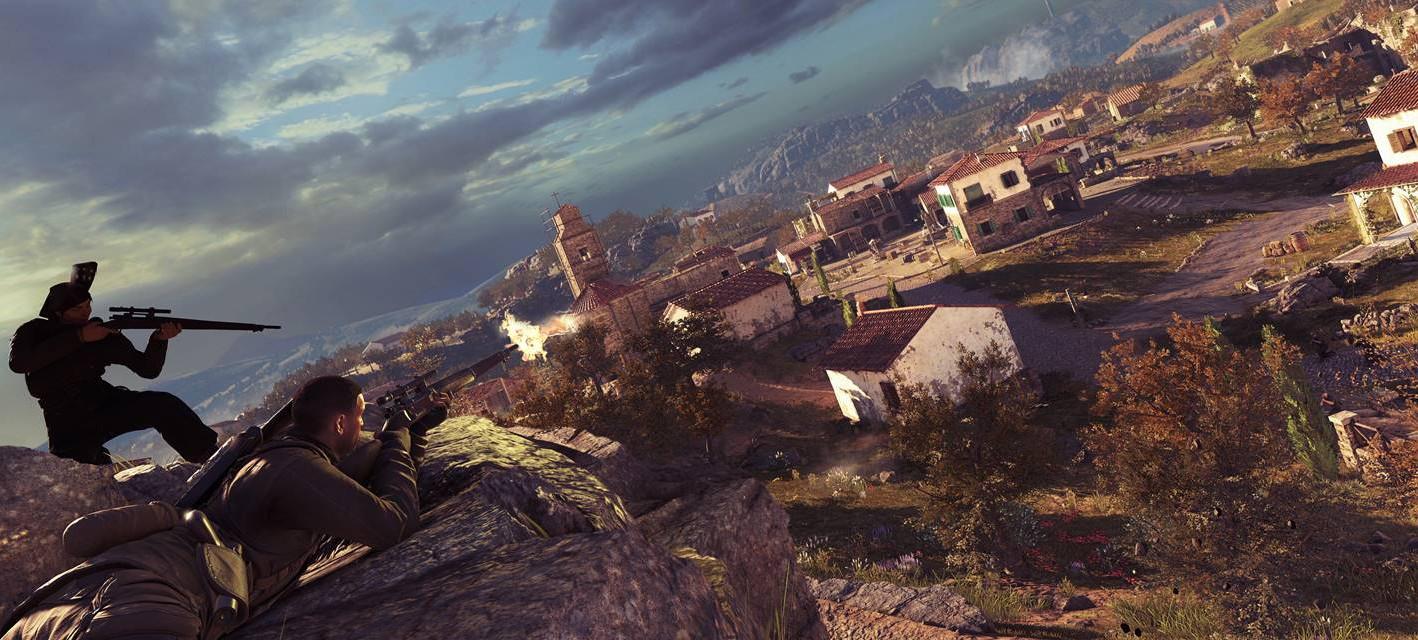 Игроков ждет тонна контента после запуска Sniper Elite 4
