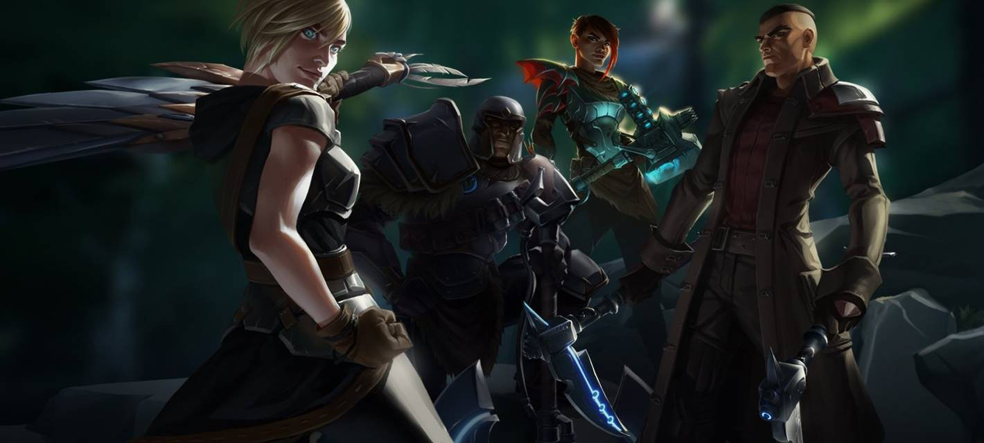 Два видео кооперативного геймплея Dauntless
