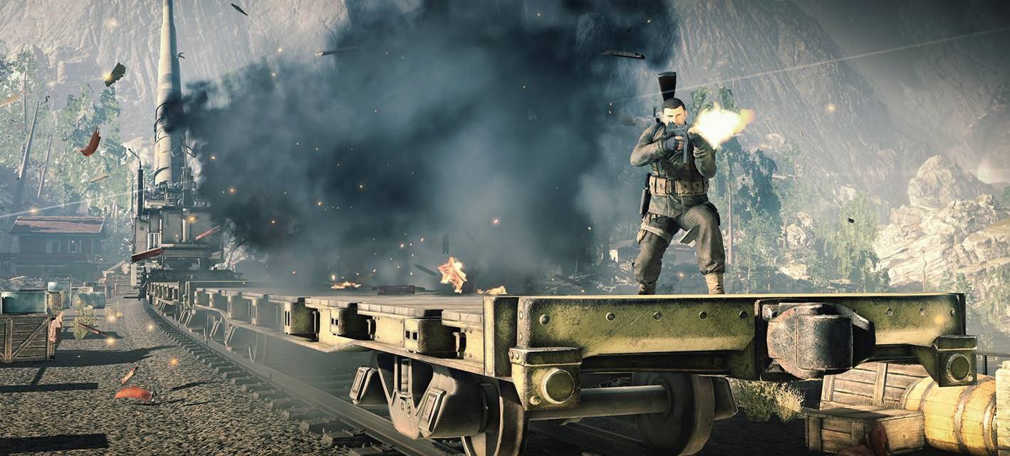 25 минут геймплея Sniper Elite 4 на PS4