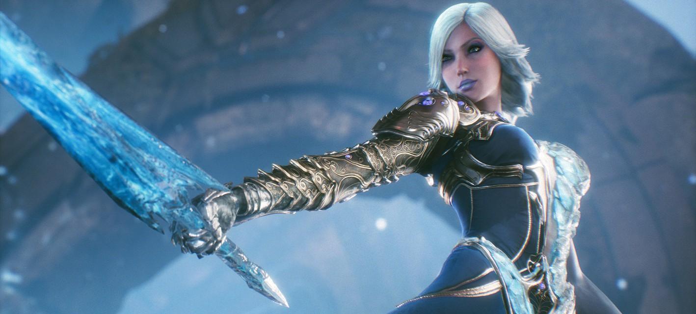 Обзорное видео морозной Авроры, нового персонажа Paragon
