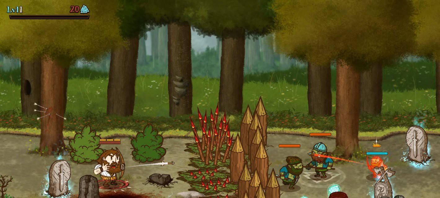 Аркада про викингов Die for Valhalla! профинансирована на Kickstarter