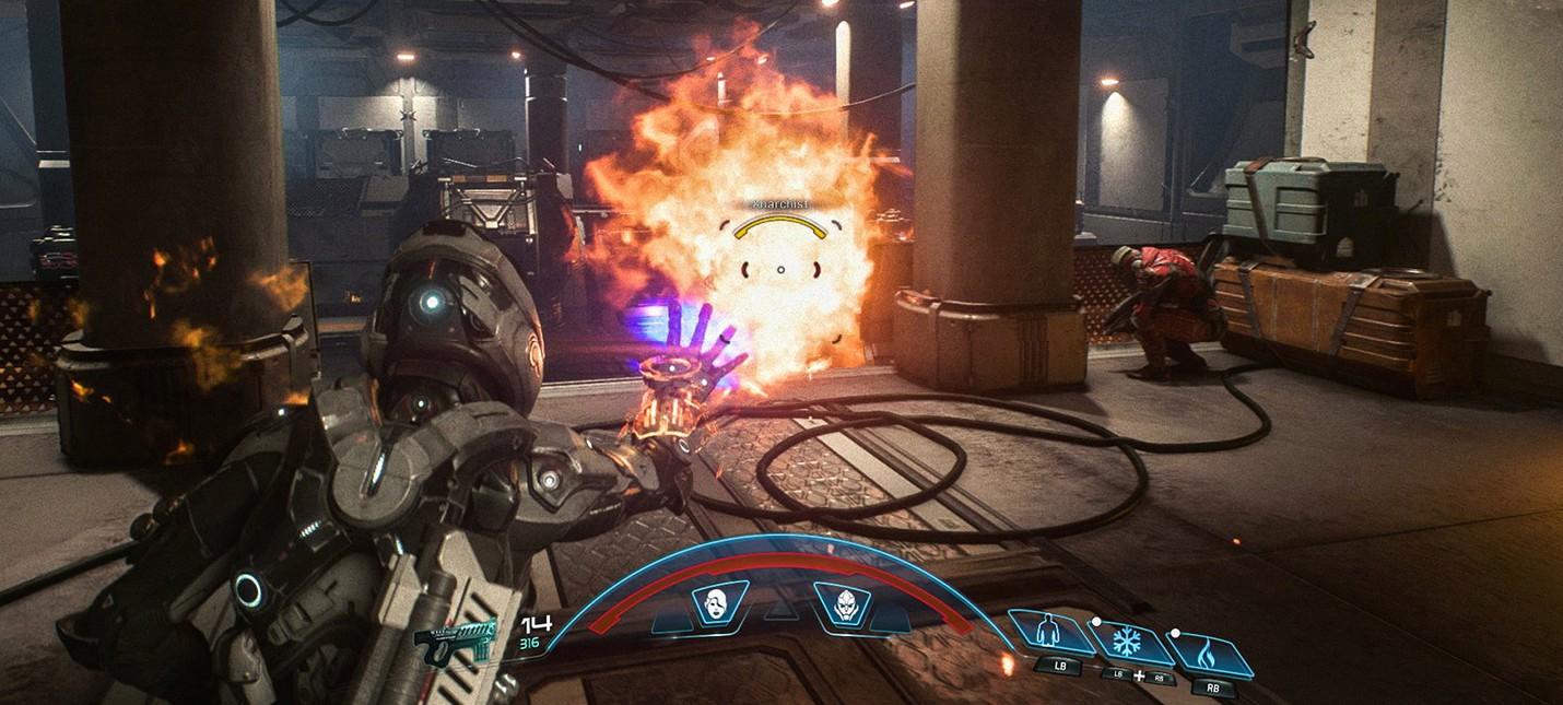 Разбор геймплея Mass Effect Andromeda: Профили, избранное, компаньоны и комбо