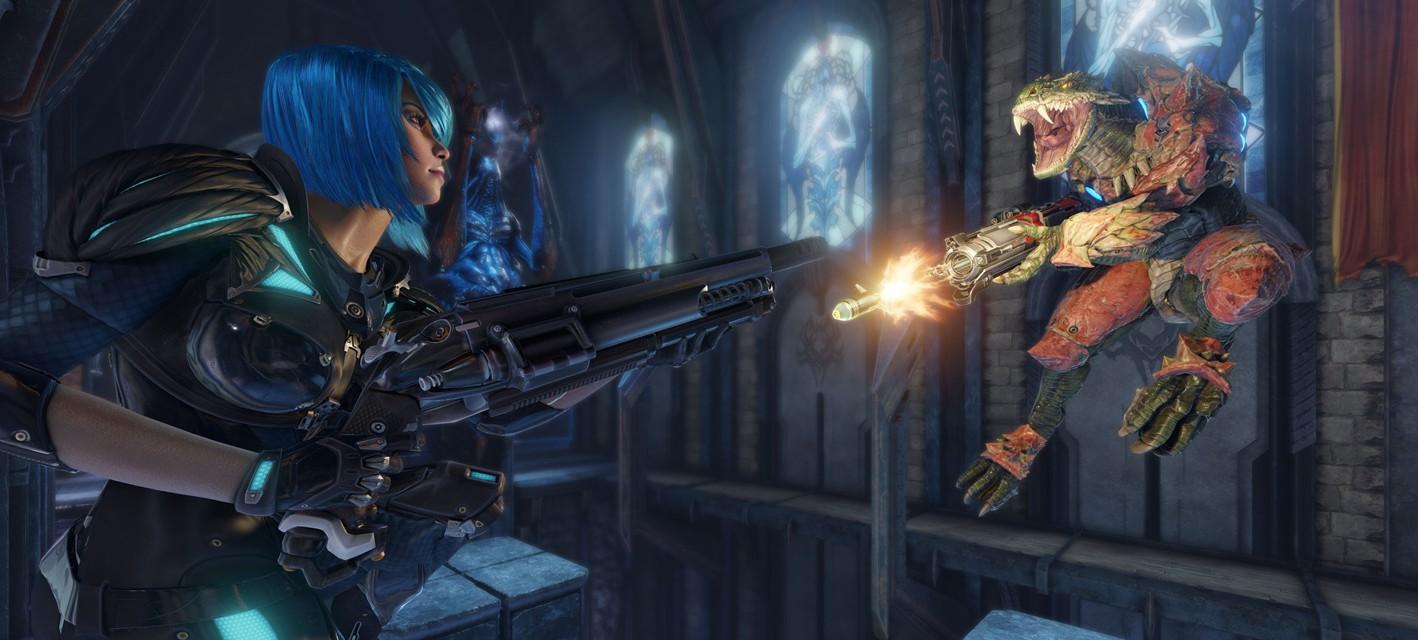 Закрытый бета-тест Quake Champions стартует в начале апреля