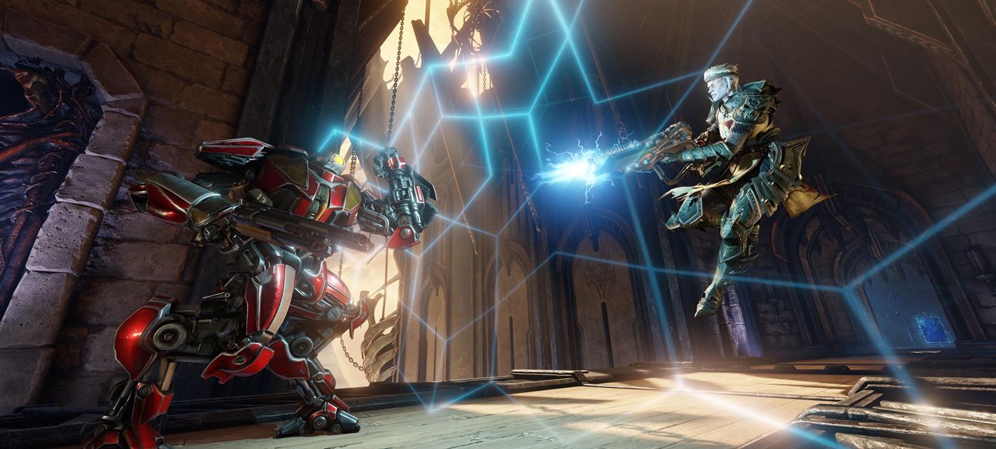 Трейлеры трех персонажей и геймплей Quake Champions