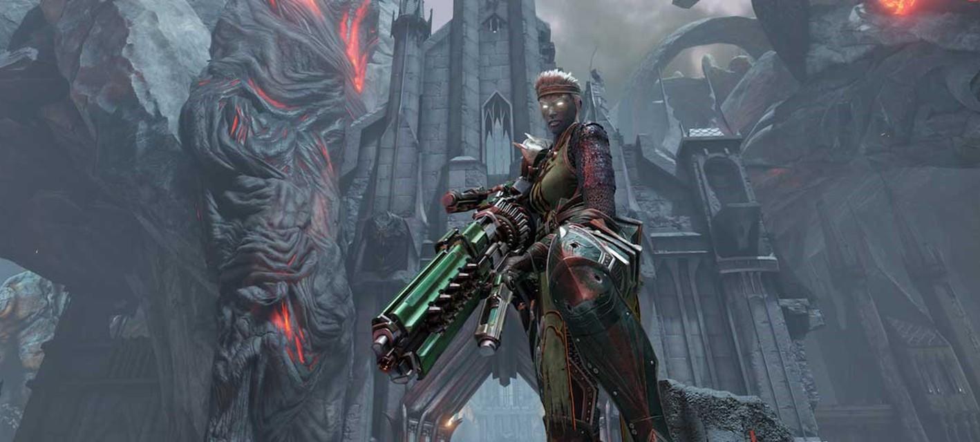 Жестокий паладин Галена из Quake Champions получила собственный ролик