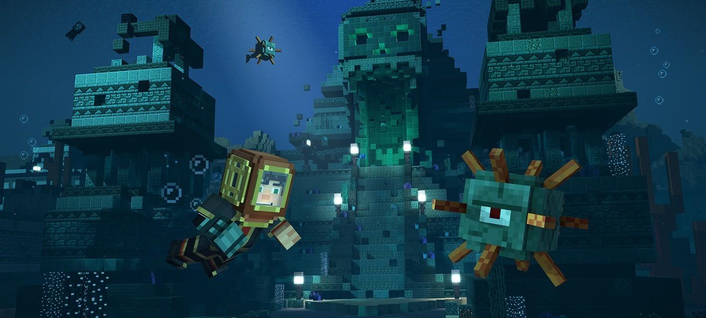 E3 2017: Новый геймплей второго сезона Minecraft: Story Mode