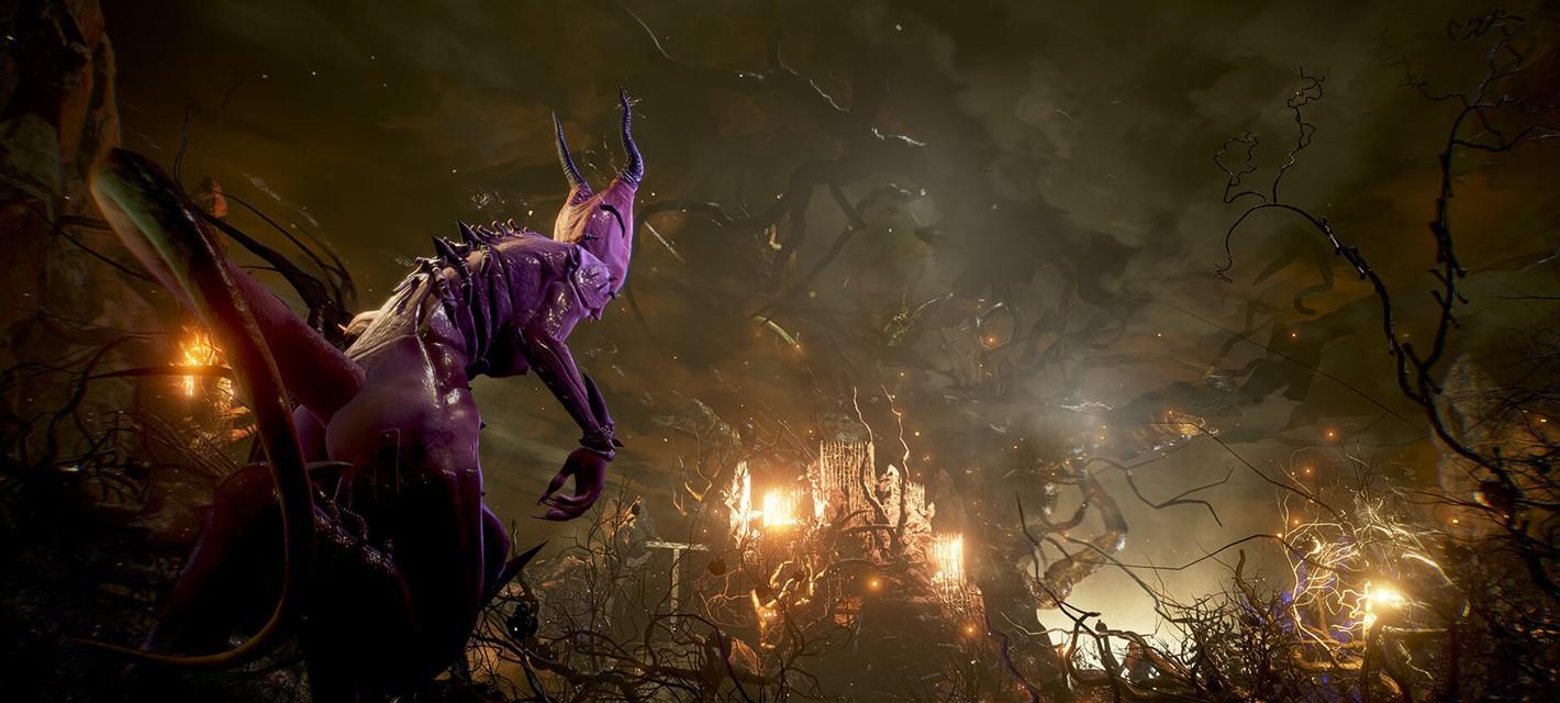 12 минут нового геймплея адского хоррора Agony