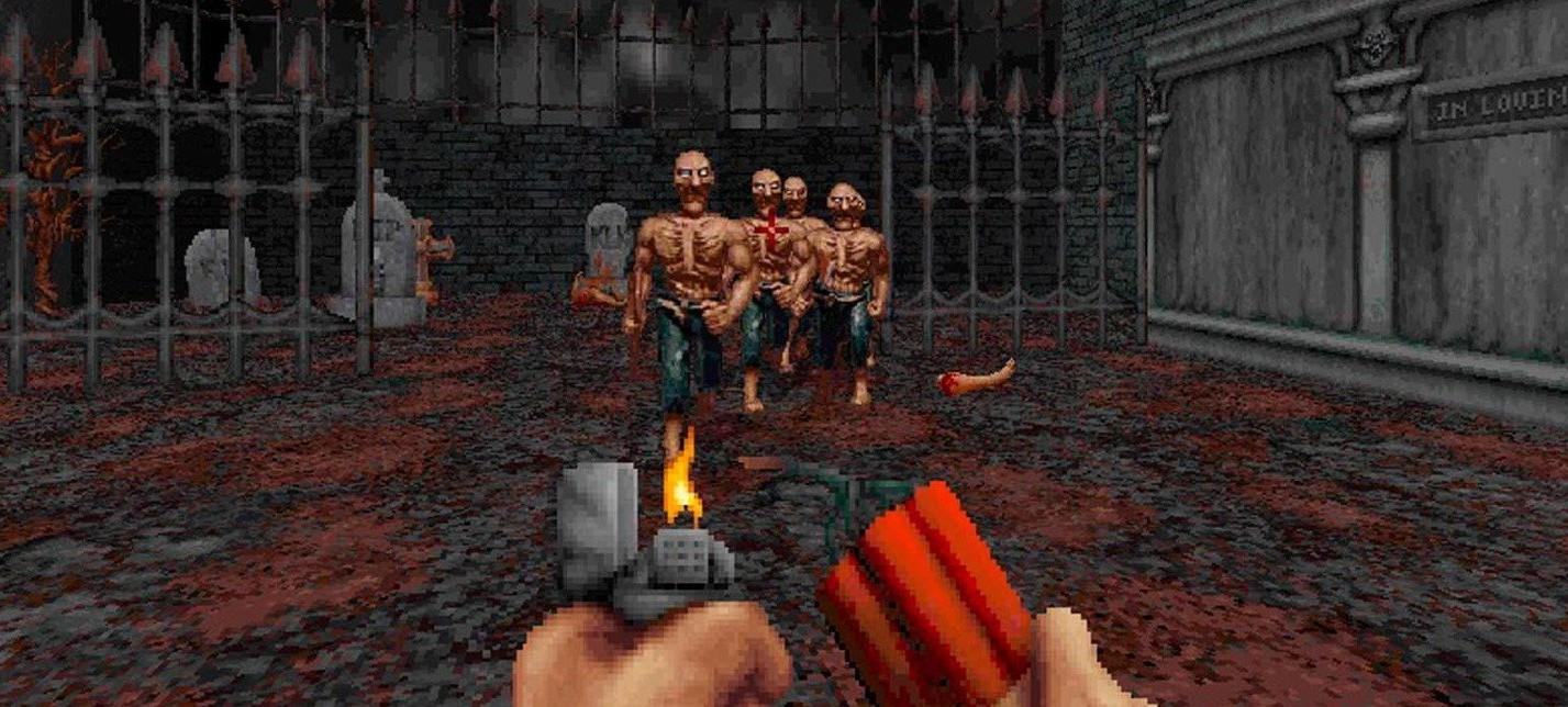 30 новых уровней с поддержкой кооператива в шутере Blood
