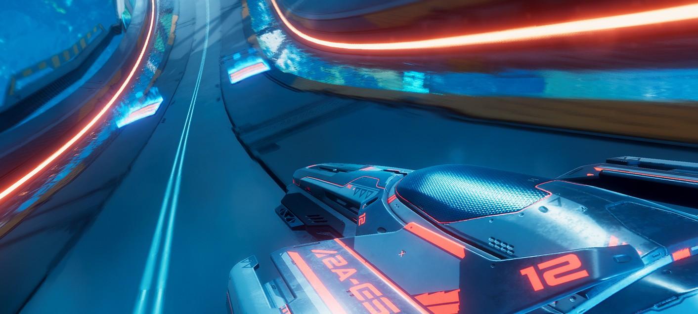 Тизер-трейлер Antigraviator — гонок на стробоскопических скоростях
