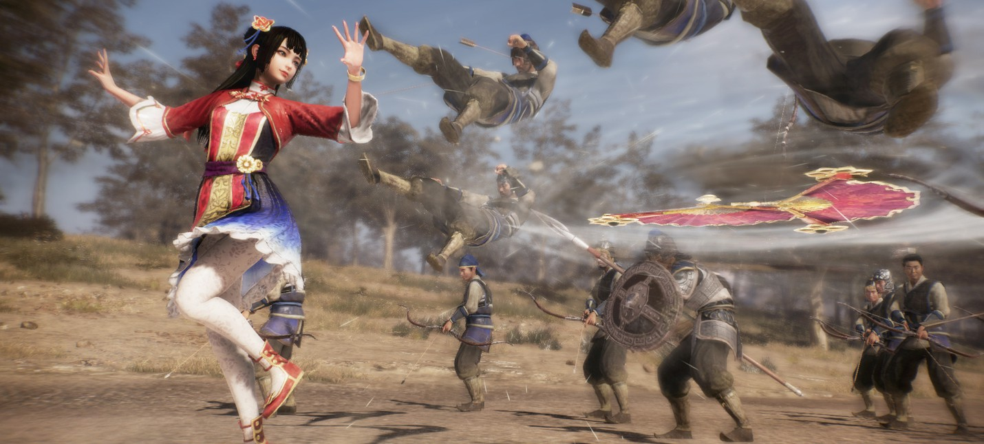Третий трейлер Dynasty Warriors 9