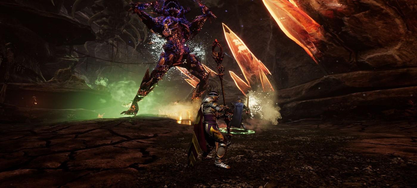 Подземное царство в новом геймплее Ashes of Creation