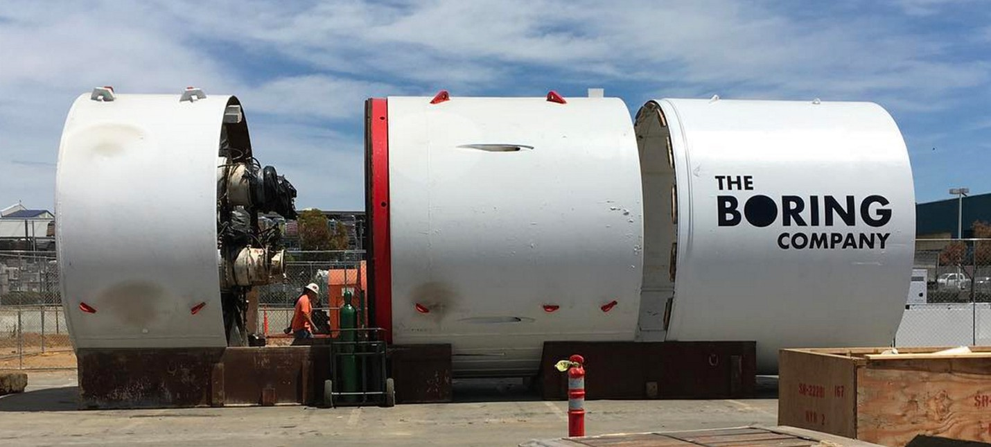 Компания Маска построит тоннель в Вашингтоне