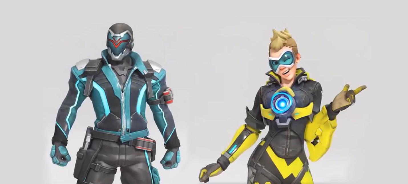 Пара новых скинов к годовщине Overwatch