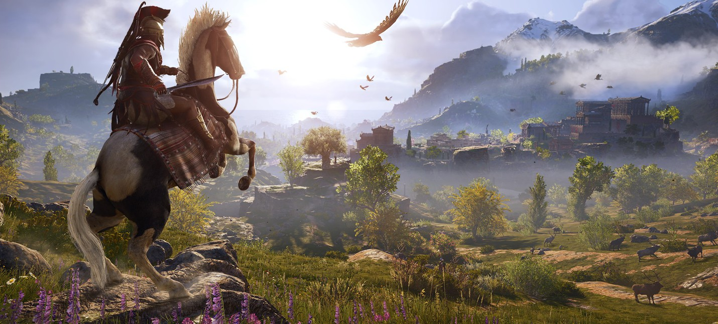 Блог: Assassin's Creed Odyssey — когда эмоции важнее