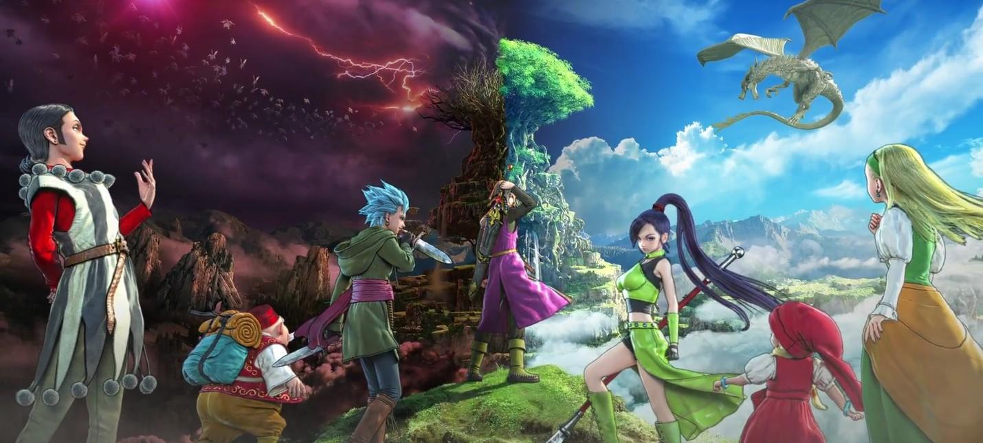 Красочный релизный трейлер и оценки Dragon Quest XI