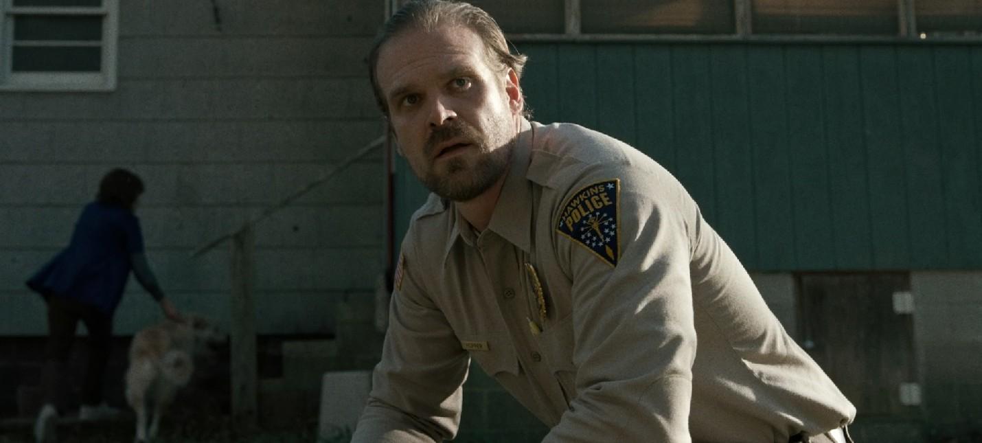 Шериф Хоппер из Stranger Things станет героем детективного романа