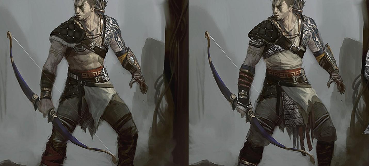 Так мог бы выглядеть Атрей в сиквеле God of War