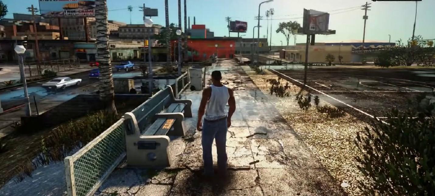 Мод для GTA: San Andreas кардинально преображает Восточный Лос-Сантос