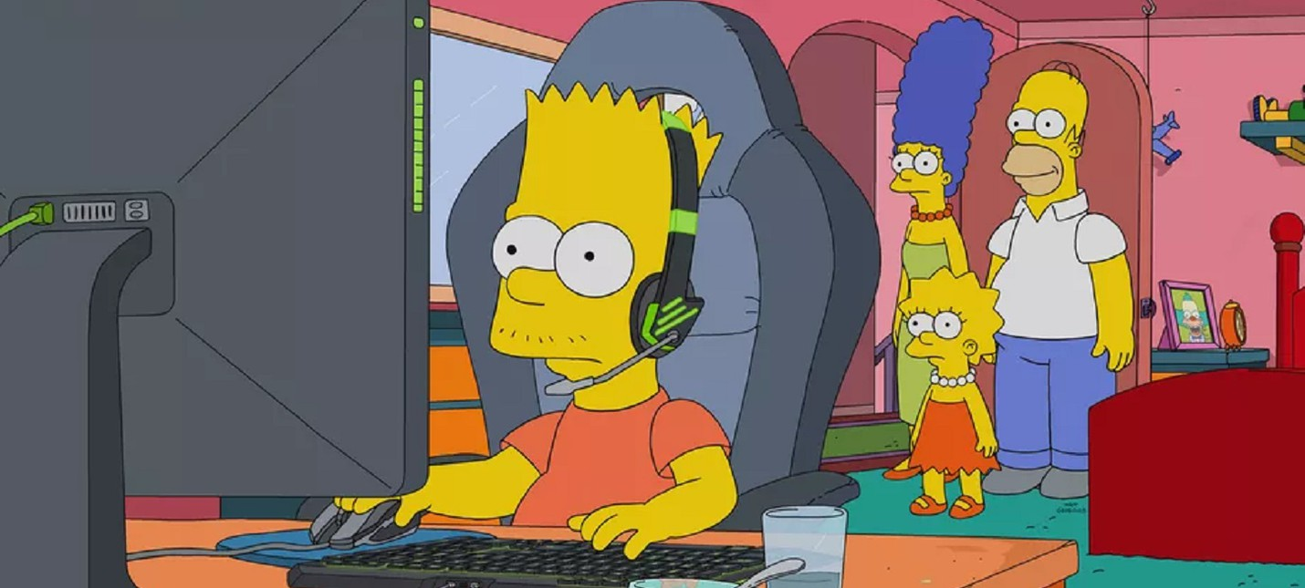 """Барт станет звездой киберспорта в новой серии """"Симпсонов"""""""