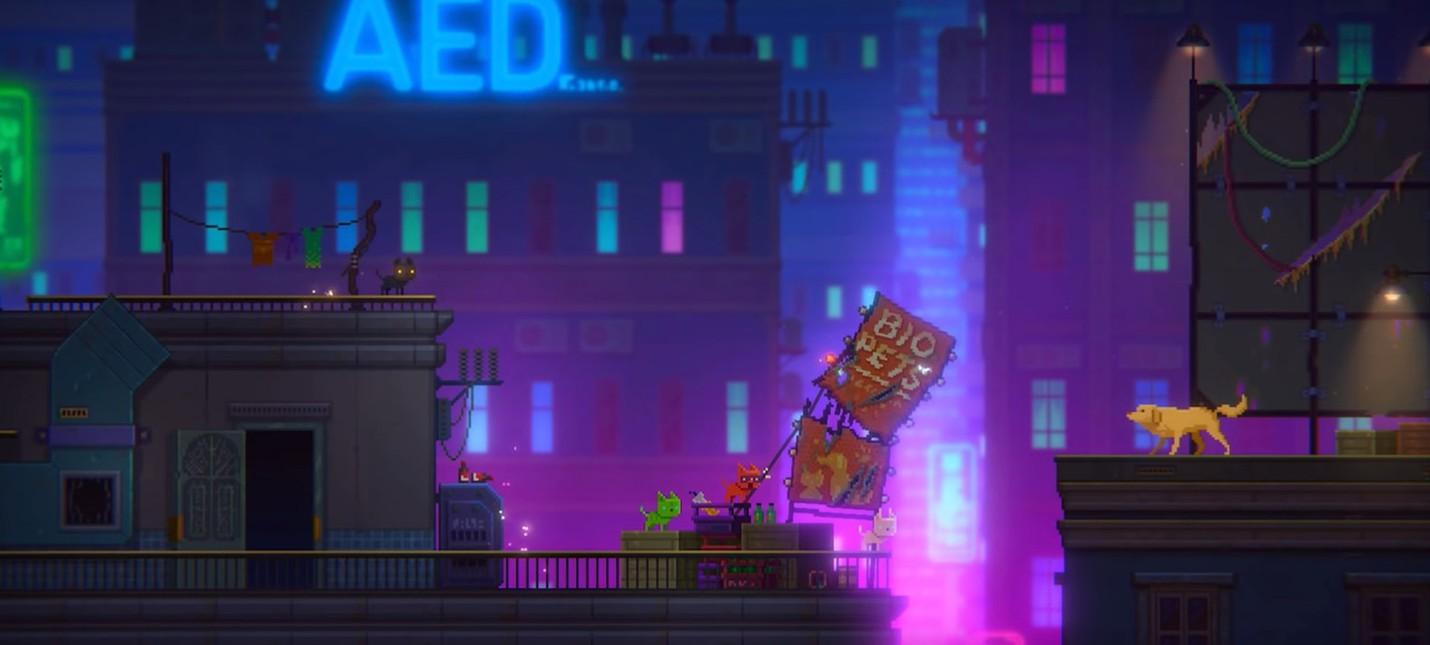 Киберпанк-адвенчура Tales of the Neon Sea выйдет в конце апреля
