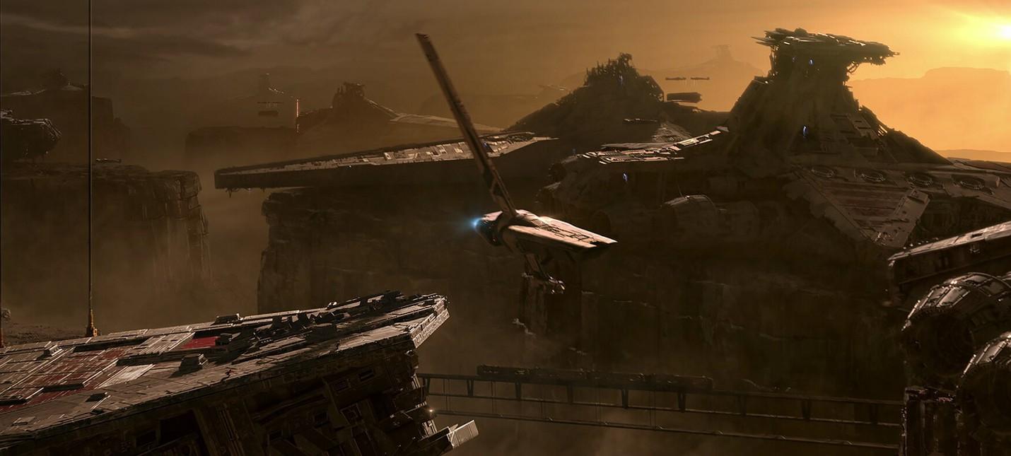 Четыре первых концепт-арта Star Wars Jedi: Fallen Order