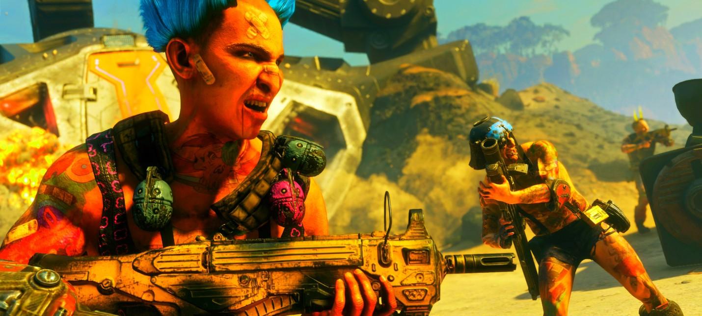 Эксклюзивный геймплей Rage 2 с комментариями разработчиков