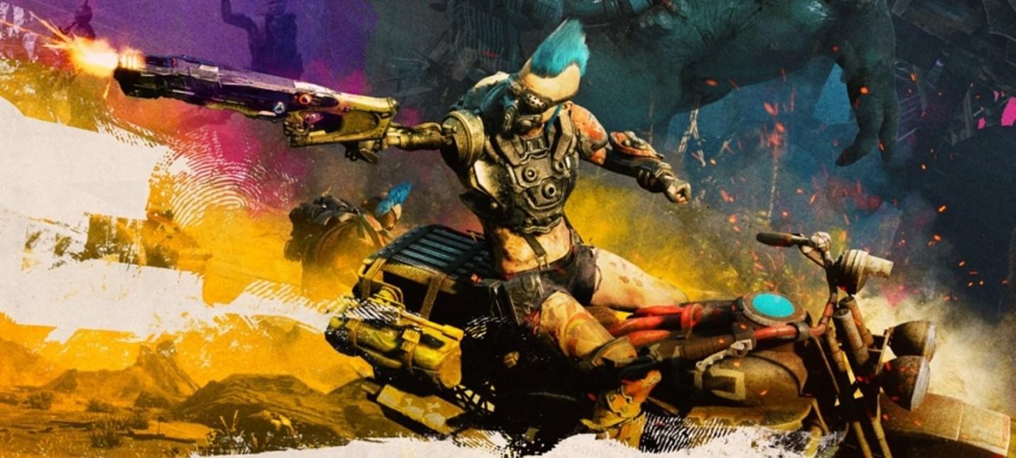 Враги и локации Rage 2 в новом геймплейном ролике