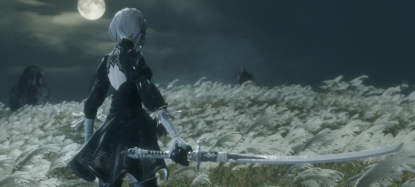 Вышел мод, заменяющий главного героя Sekiro: Shadows Die Twice на 2B