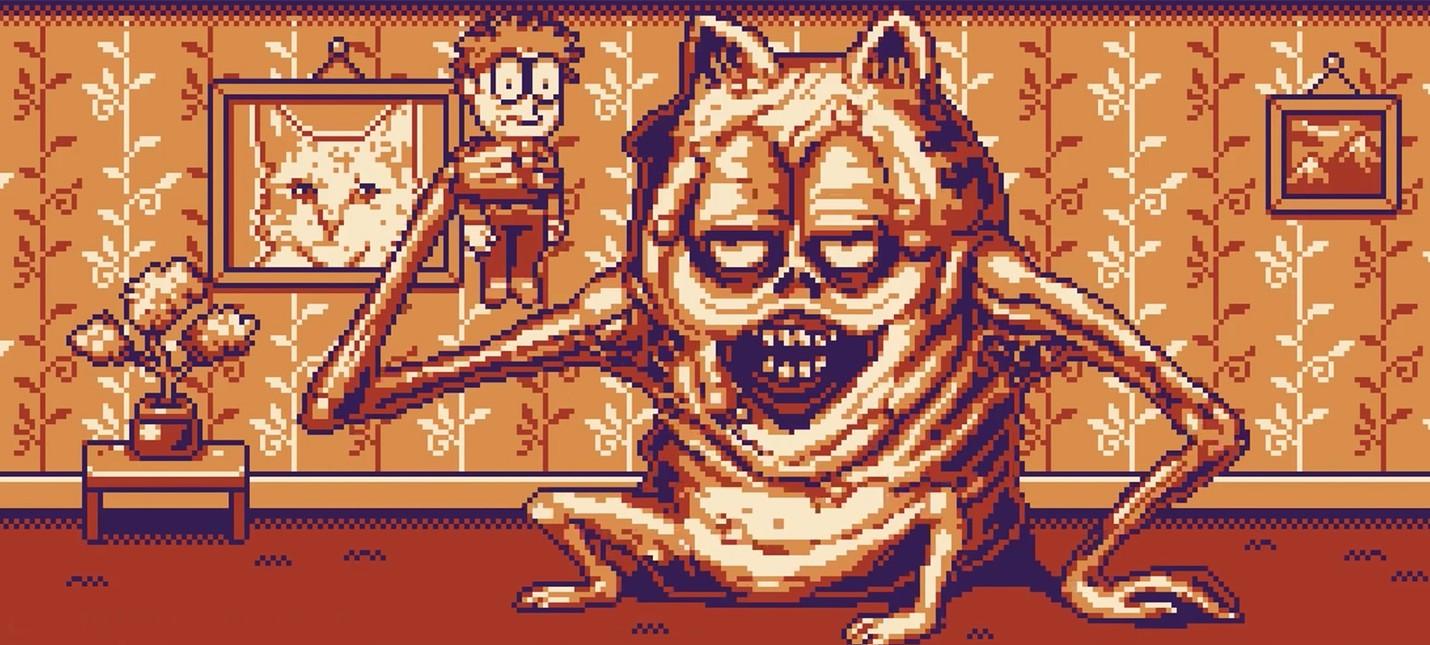 Кошмарный Гарфилд для GameBoy закончен и готов мешать вашему сну