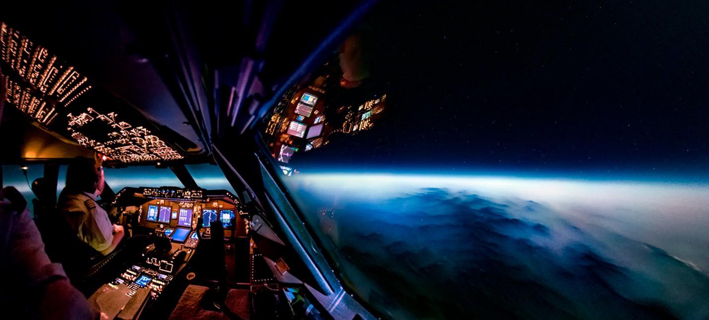 Пилот Boeing 747 показал 10 лучших фотографий, снятых из кабины