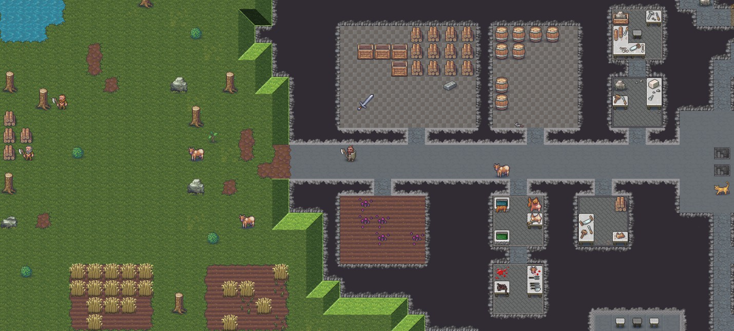 Создатели Dwarf Fortress показали обновленный интерфейс для Steam-версии