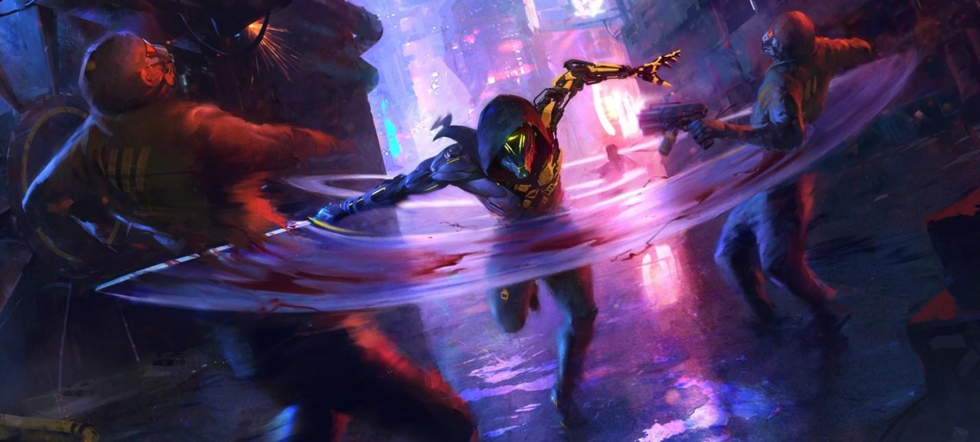 Новый геймплей самурайского экшена в мире киберпанка Ghostrunner