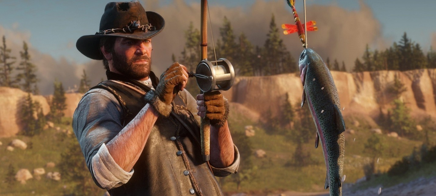 Игрок Red Dead Redemption 2 вырезал всю деревню ради доставки рыбы