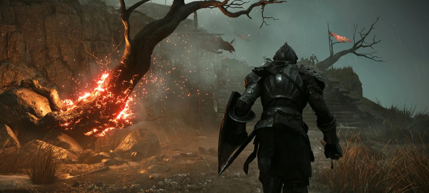 Первые размеры игр Sony на PS5 и мультиплеер Demon's Souls до 6 человек