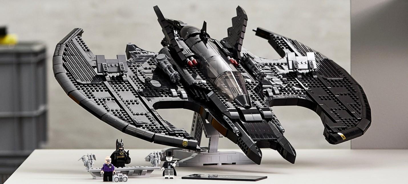 LEGO выпустит набор с Бэткрылом из фильма Бэтмен с Майклом Китоном и Джеком Николсоном