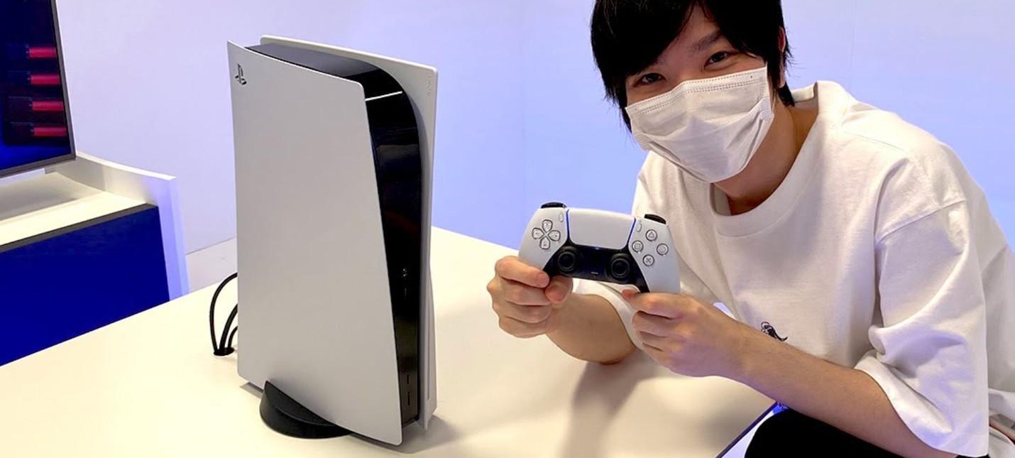 Первое живое фото PS5 в хорошем качестве