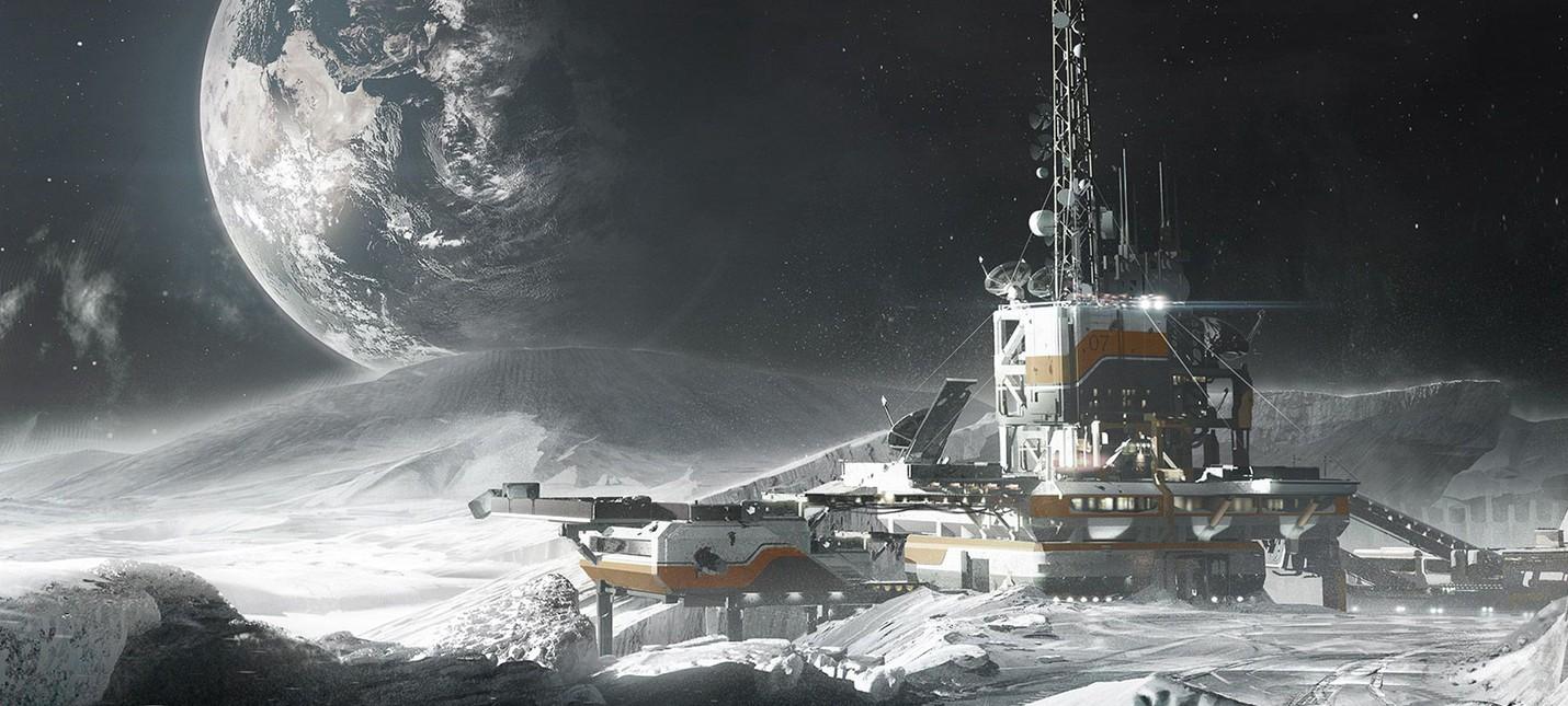 NASA нашла воду на солнечной стороне Луны