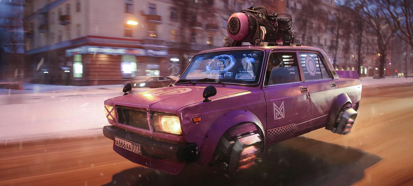 Уморительное видео  если бы Cyberpunk 2077 был в России