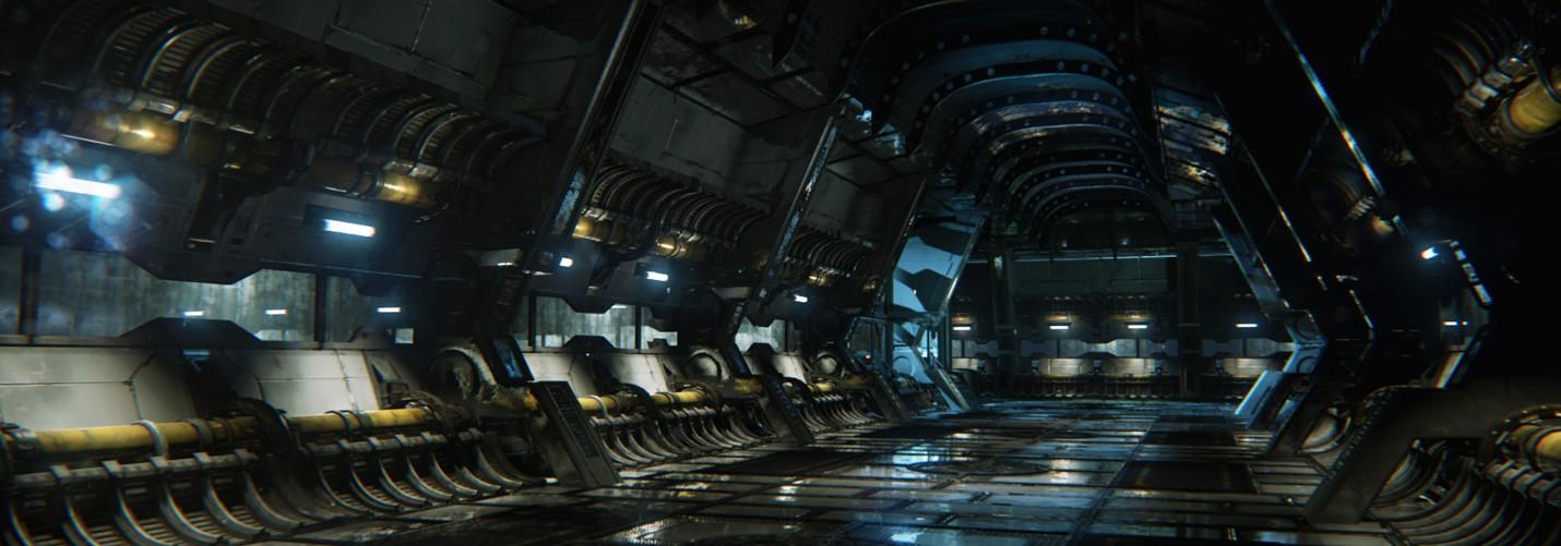 Фанатское техно-демо Unreal Engine в DirectX 11