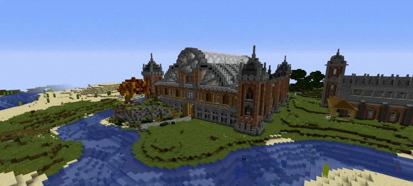 Игрок Minecraft построил музей с практически всеми мобами  работа потребовала свыше 200 часов