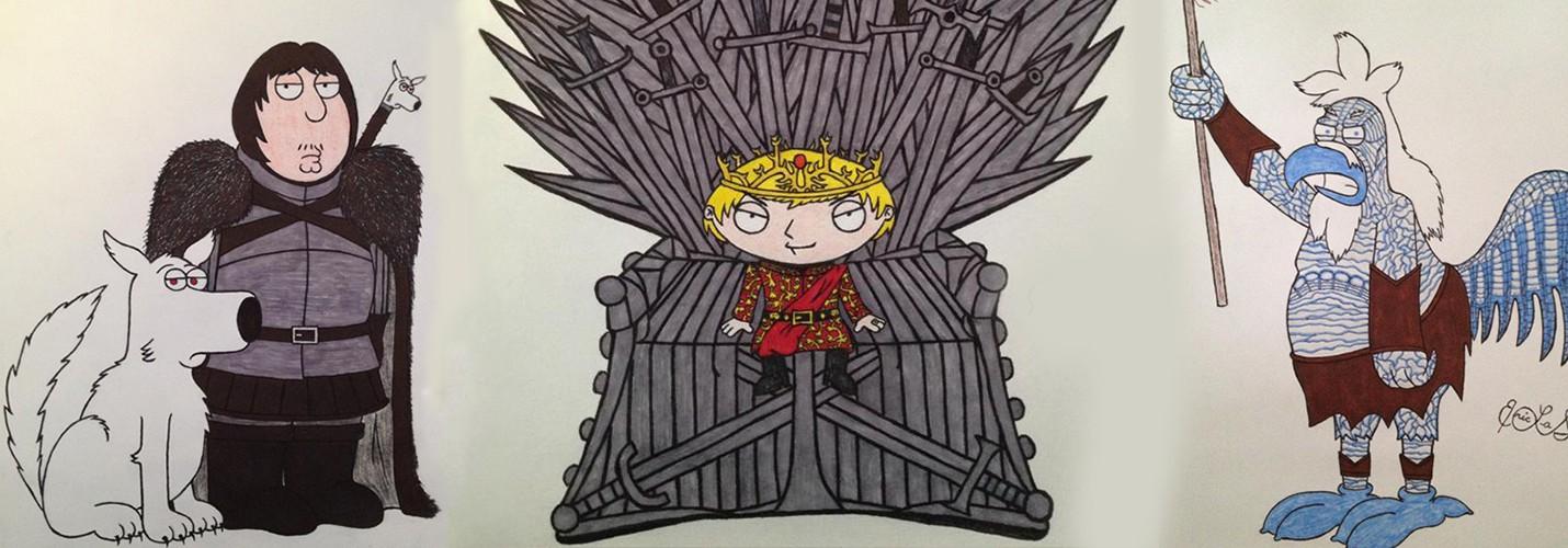 Гриффины во вселенной Game of Thrones