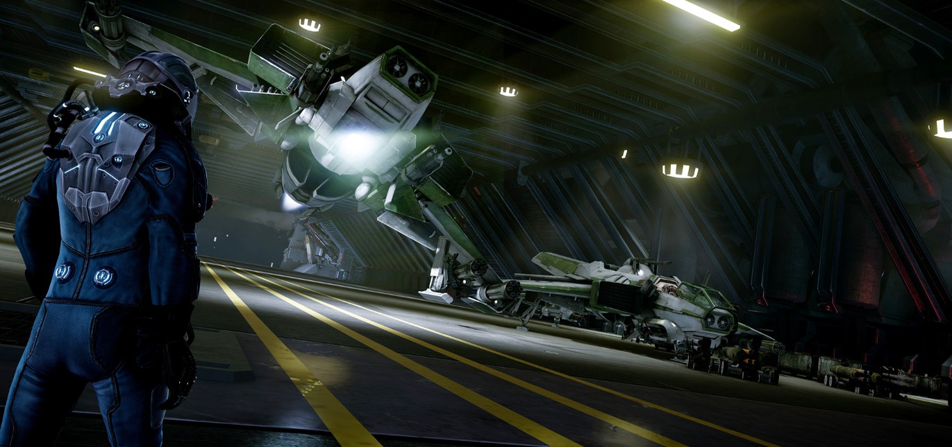 Доступ к Hangar-режиму Star Citizen