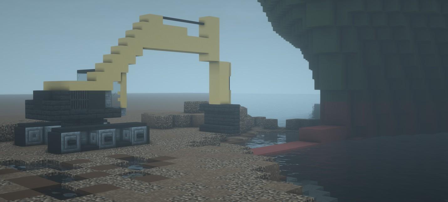 Игроки Minecraft попрощались с мемом про Суэцкий канал  подборка эпичных кораблей из блоков